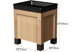 multilevel knock down bin<p>OBP-182227-W