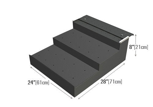 Three Step Riser [PR80-B]