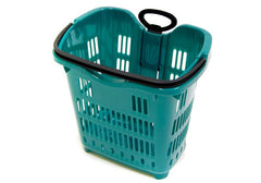 RSPB-RED<p>rolling plastic shopping basket