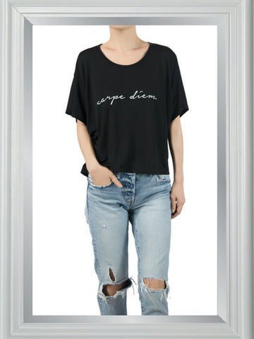 CARPE DIEM reflection tee