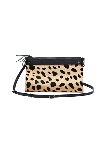 SONDER cheetah crossbody wallet