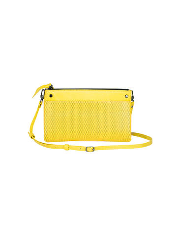 SONDER perforated crossbody wallet