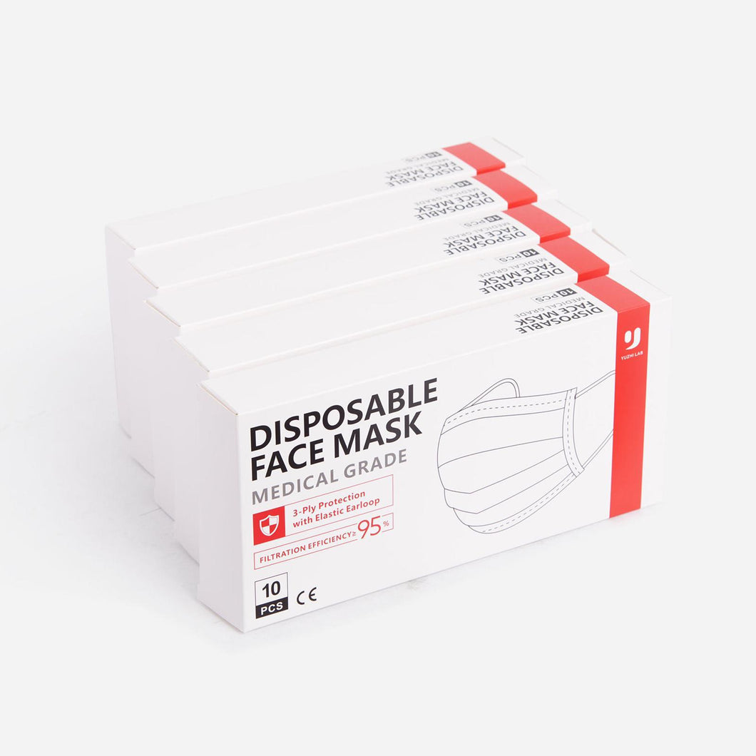 50 3 ply masks (pack of 10)