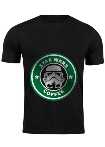 T-Shirt Star Wars Coffee - Homme