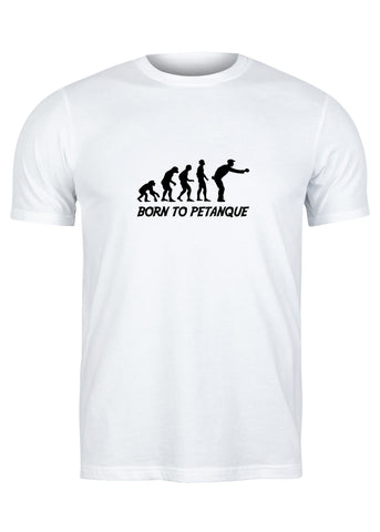 T-Shirt Born To Pétanque - Homme