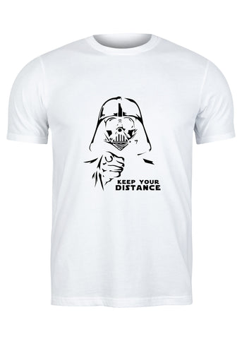 T-Shirt Keep Your Distance Vader - Homme