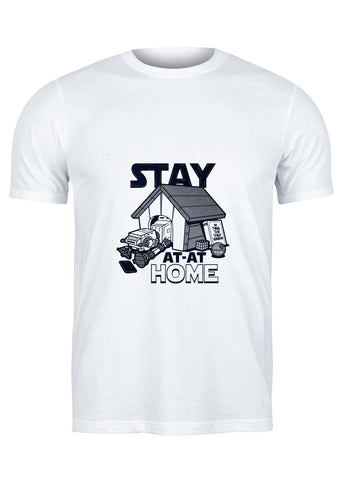 T-Shirt Stay At-At Home - Homme
