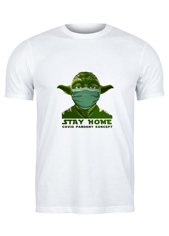 T-Shirt Keep Your Distance Yoda - Homme
