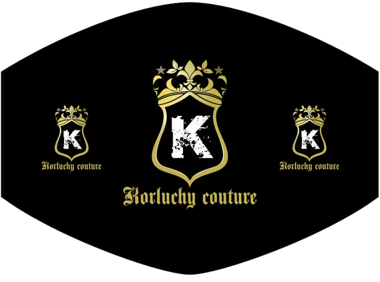 Korluchy Couture Mask Three-logo