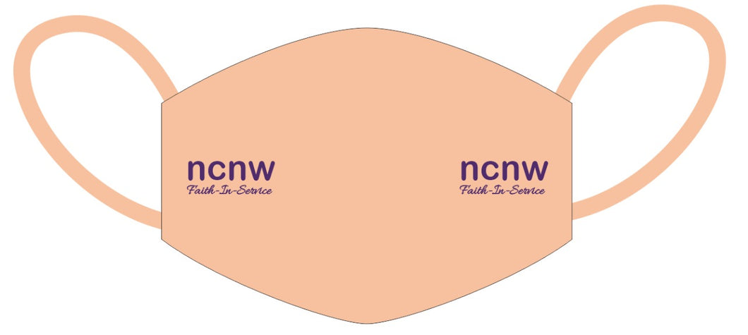 NCNW Faith-N-Service Mask