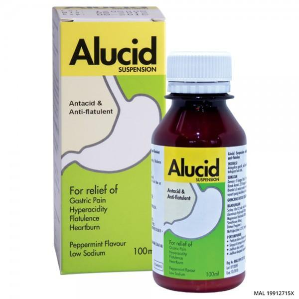 Alucid 100ML- Recommended for Gastric or Acid Reflux