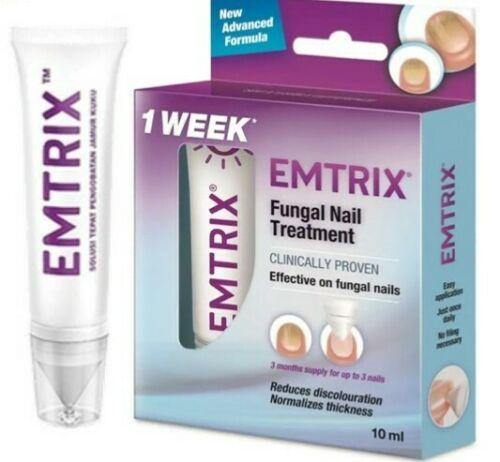Emtrix Fungal Nail Treatment in 1 weeks improved appearance (10ml)