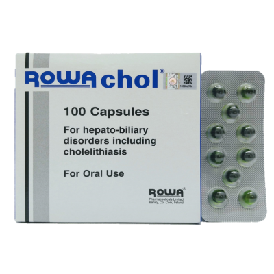 ROWACHOL For Hepato Biliary Disorders Including Cholelitiasis 100'S