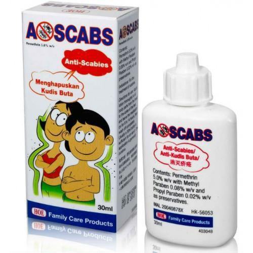 A-Scabs (Anti-Scabies) Lotion 30ml