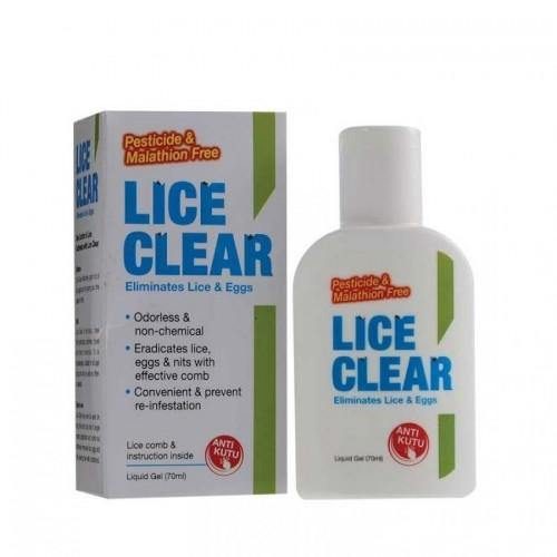Lice Clear Liquid To Remove Lice & Eggs (70ml)