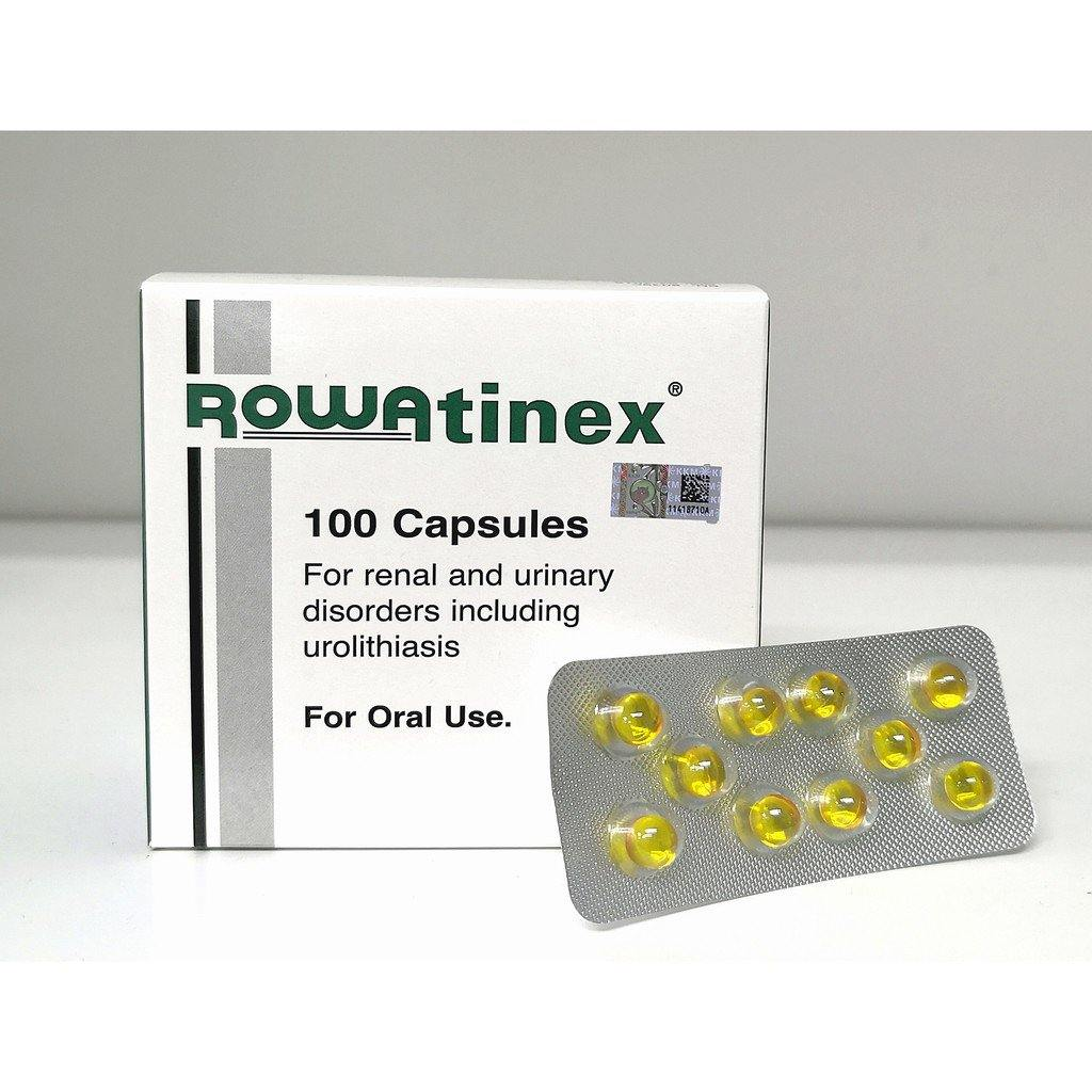 Rowatinex 100 Capsules For Renal & Urinary Disorders