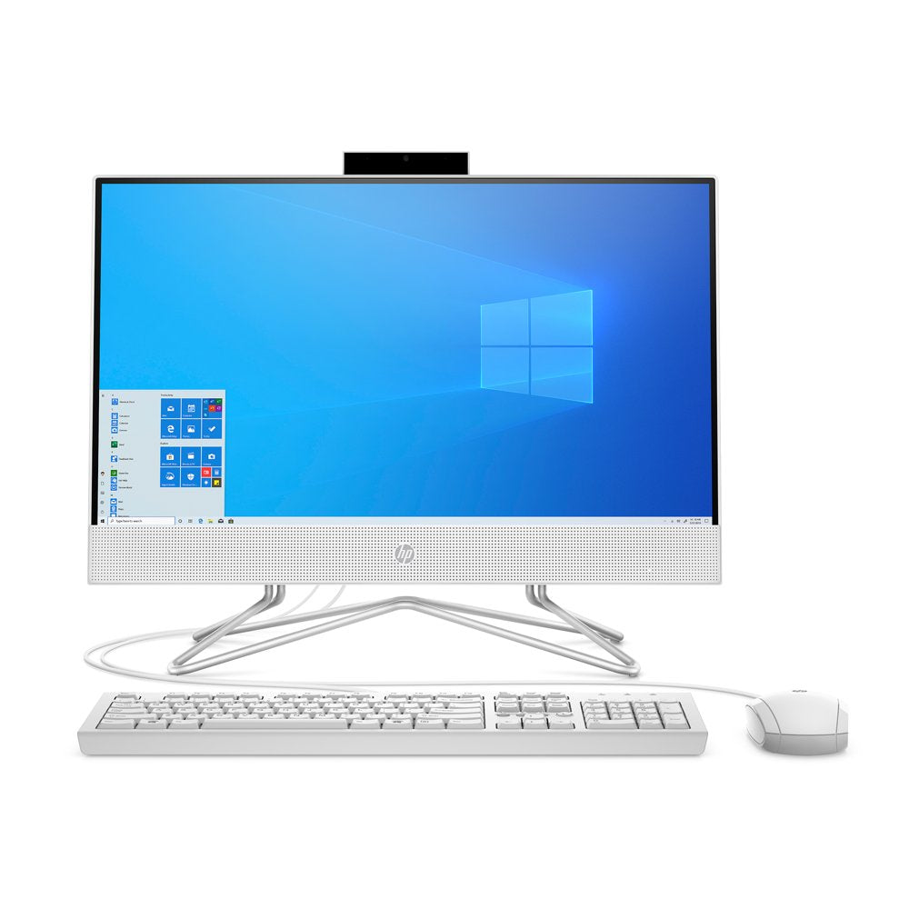 HP 22 AIO Celeron White 4GB/256GB Desktop All-In-One - - Rite Gadgets