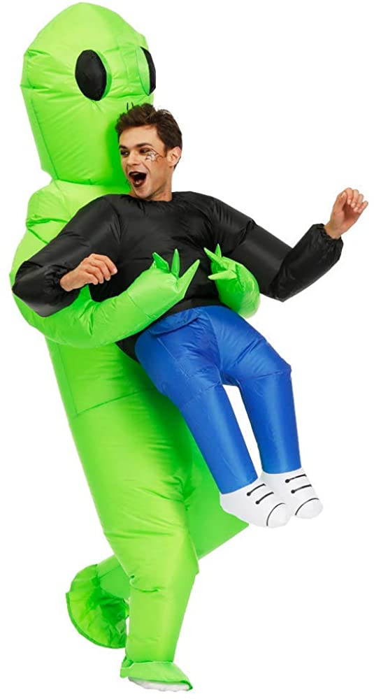 Kooy Inflatable Alien Costume for Adult (Adult - Et Alien) - Rite Gadgets