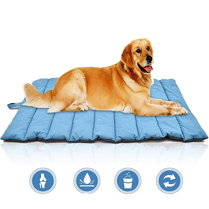 Waterproof bite resistant dog mat pad pet kennel large dog Cushions bed for large dog outdoor easy clean dog sleeping mat - Rite Gadgets