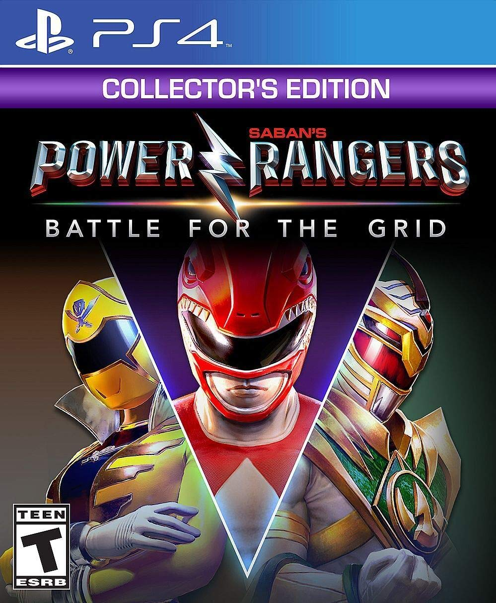 Power Rangers: Battle for the Grid Collector's Edition (PS4) - PlayStation 4 - Rite Gadgets