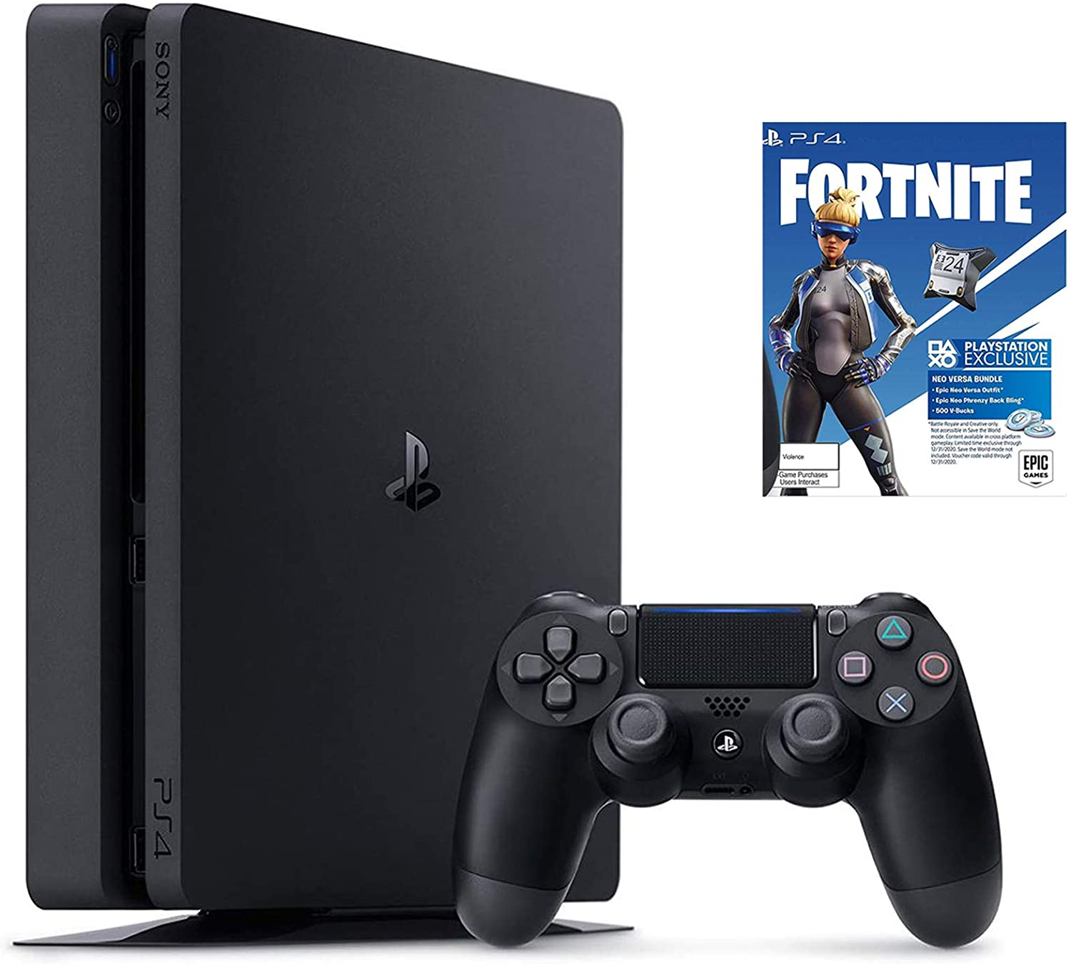 NexiGo 2020 Newest Upgraded 2TB SSHD Playstation 4 PS4 Console + Fortnite_Game Bundle - Rite Gadgets