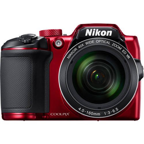Nikon Red COOLPIX B500 Digital Camera with 16 Megapixels and 40x Optical Zoom - Walmart.com - Walmart.comListsWalmart+Gift Finder - Rite Gadgets