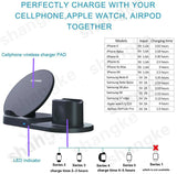 Fast Wireless Charger Dock Station Fast Charging - Rite Gadgets
