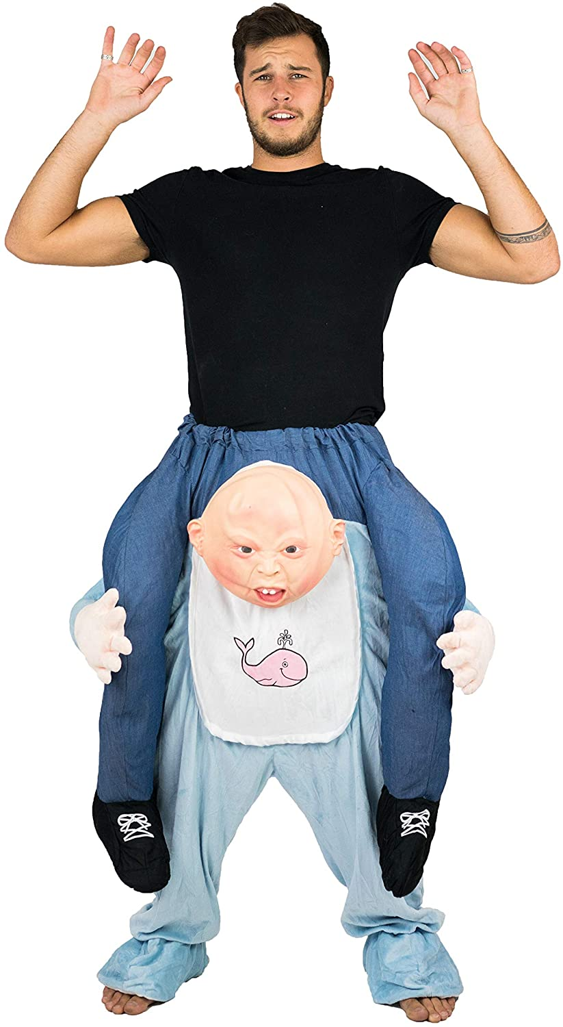 Bodysocks Adult Stuffed Carry On Baby Fancy Dress Costume - Rite Gadgets