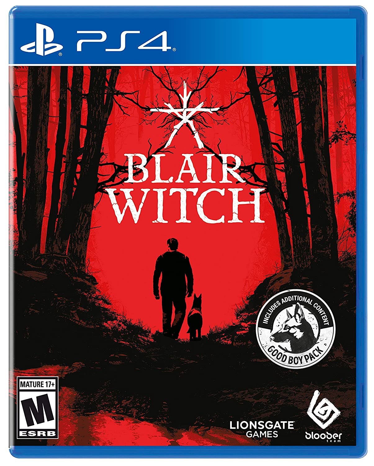 Video Games from Brand: Deep Silver Blair Witch - PlayStation 4 - Rite Gadgets