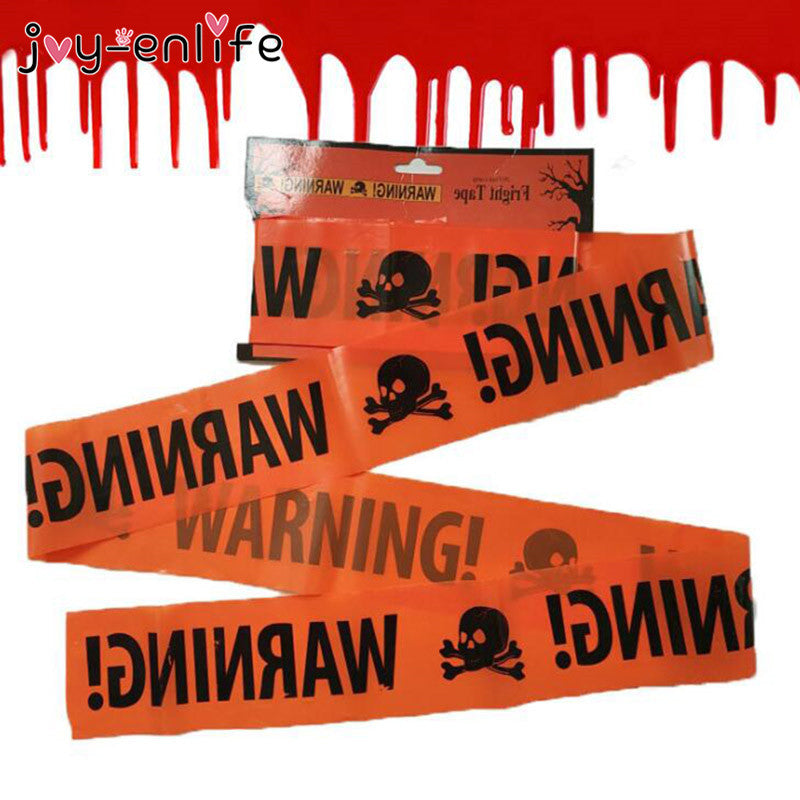 JOY-ENLIFE Halloween Warning Caution Tape - Rite Gadgets - Rite Gadgets