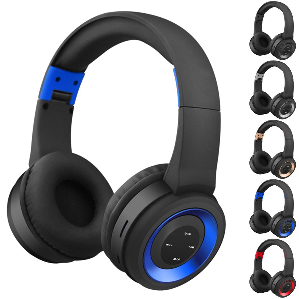 .Noise Cancelling Bluetooth Headphones Wireless Over Ear Headphones... - Rite Gadgets