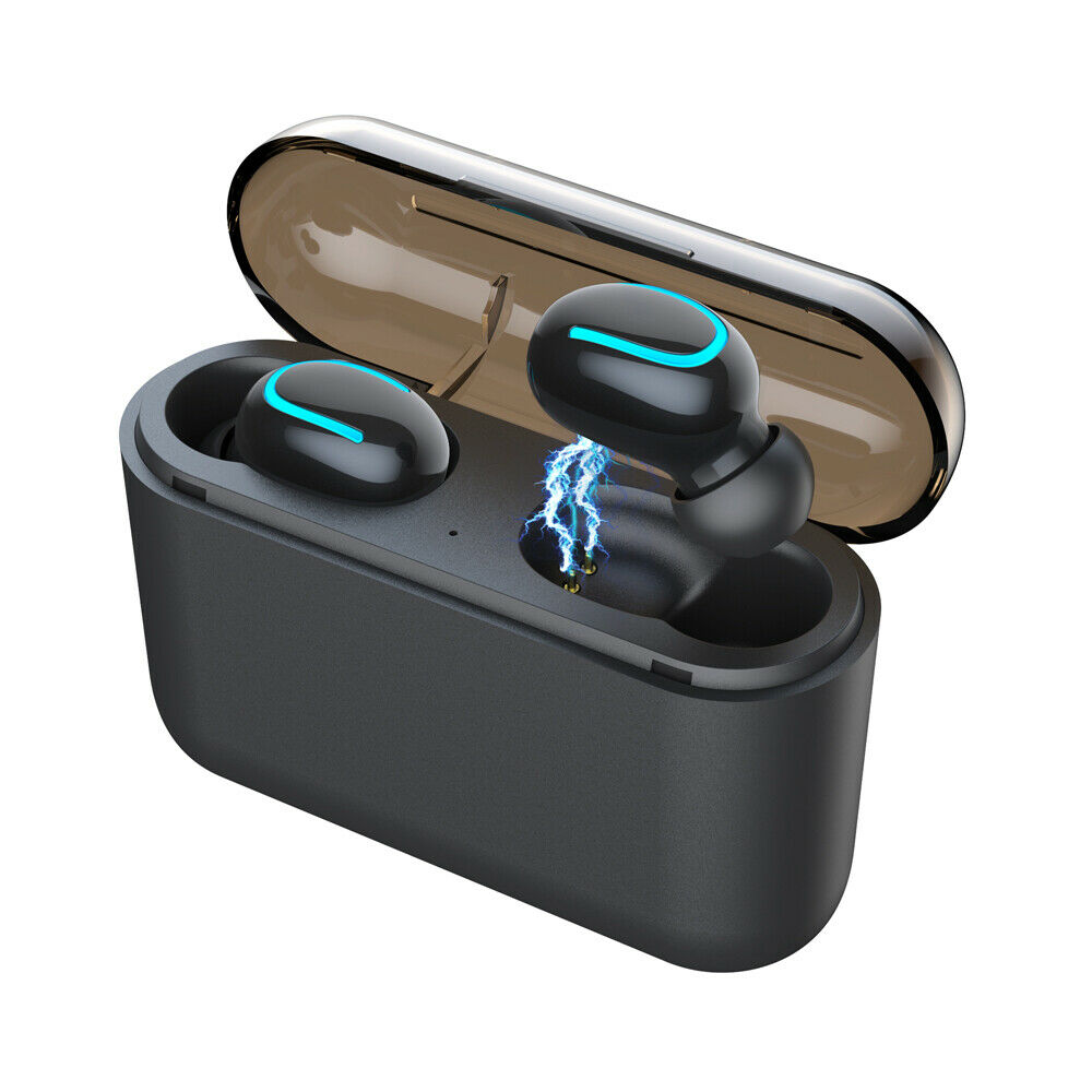 Bluetooth 5.0 Headset TWS Wireless Earphones Twins Earbuds - Rite Gadgets