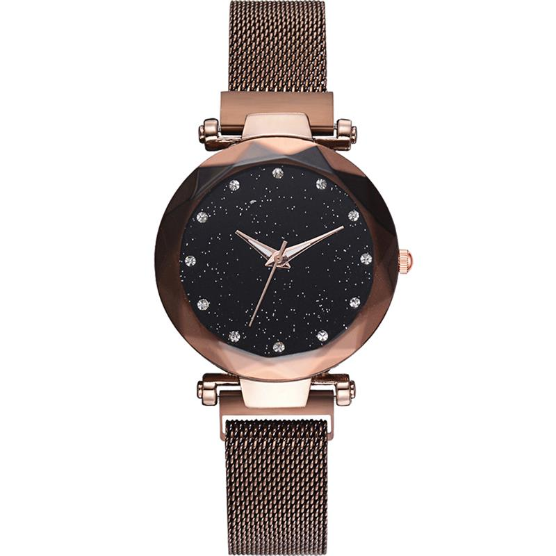 Luxury Diamond Rose Gold Women Watches - Rite Gadgets