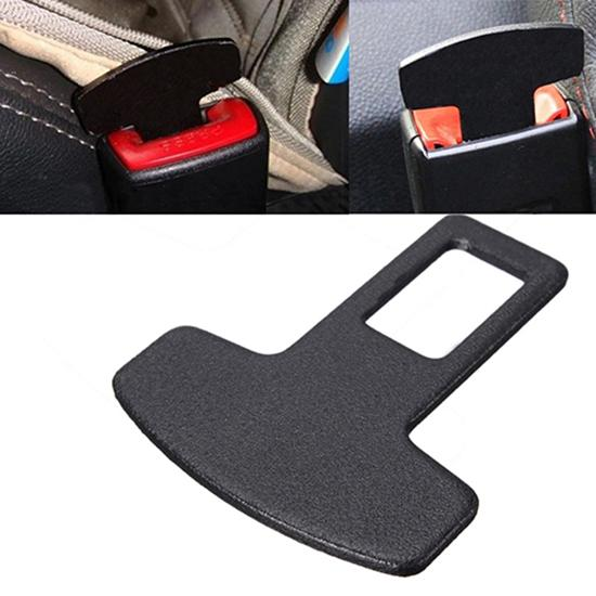 Useful Universal Car Accessories Safety Seat Belt Buckle Alarm Stopper Eliminator Clip Seat Belts
