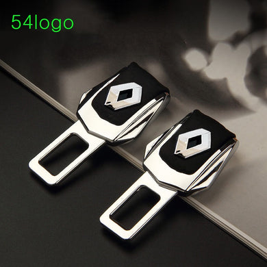 2pcs Car Seat Belt Cover Clip Safety Seat Belt Padding Clip Safety Belts Plug Buckle seat for benz kia K2 K3 opel Cutter safety
