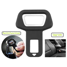 Load image into Gallery viewer, 2PCS Car Seat Belt Clip Seat Belts Stopper Buckle Car Safety Belt Clip Clamp Car-styling Universal Suitable for 0-53mm Dropship