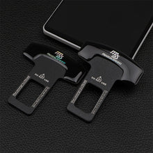 Load image into Gallery viewer, 1/2pcs quality zinc alloy MS car seat belt clip safety belt plug for Mazda 2 3 5 6 MS CX-4 CX-5 CX-3 CX-9 MX3 MX5 Car Accessorie