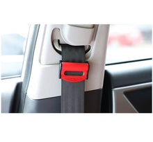 Load image into Gallery viewer, 1pair Car Seat Belt Buckle Adjusters SeatBelt Clip Locking Stopper Clamp Strap Safety Seatbelt Lock Buckle Car Accessories