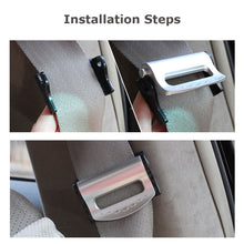Load image into Gallery viewer, 2PCS/Set Universal Car Seat Belts Clips Safety Adjustable Auto Stopper Buckle Plastic Clip 4 Colors Interior Car Accessories