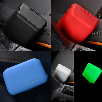 New Universal Silicone Car Seat Belt Buckle Covers Anti Scratch Cover Auto Safety Button Car Interior Accessories Car Styling