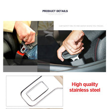 Load image into Gallery viewer, Universal Car Safety Belt Clip Car Seat Belt Buckle Seatbelt Buckle Plugs Car Accessories