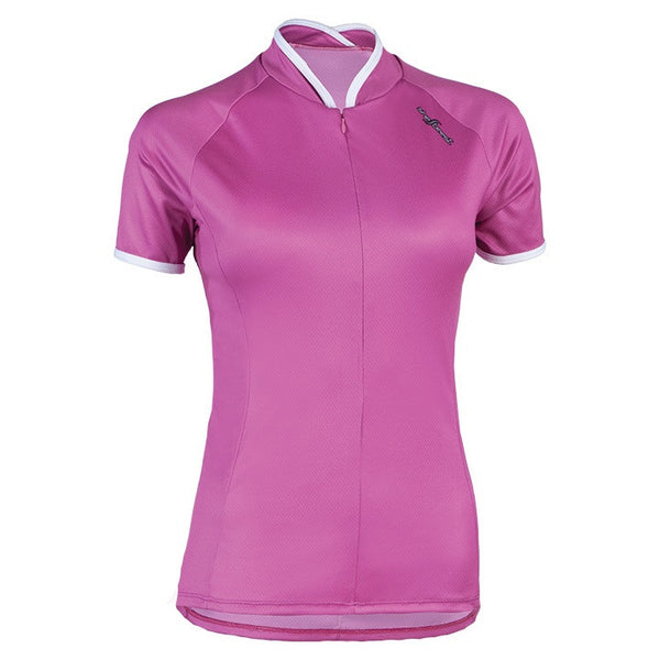 Pink Shebeest cycling jersey