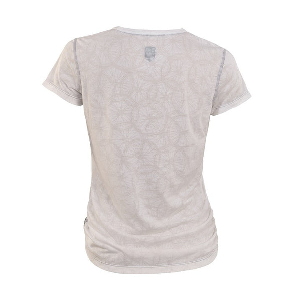 Club Ride Wheel Cute T-Shirt Ivory