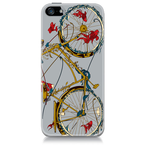 Cycling Fish iPhone Case
