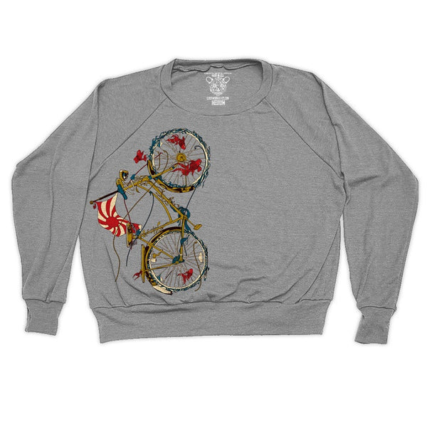 Clockwork Gears Cycling Fish Sweatshirt