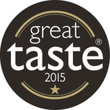 Winner of a gold star at the 2015 Great Taste Awards