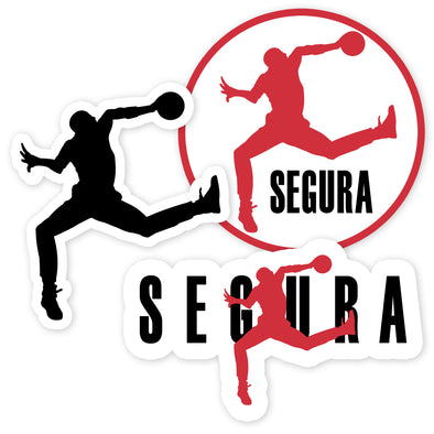Air Segura Stickers (Set of 3)