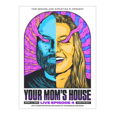 AUTOGRAPHED Your Mom's House Live Episode 4 Show Poster