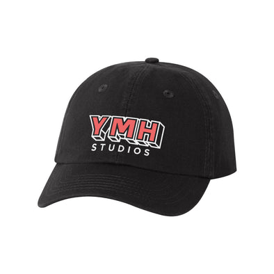 YMH Studios Unstructured Logo Hat