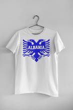 Load image into Gallery viewer, Albanian eagle with Albania text on the middle (Man T-Shirt)